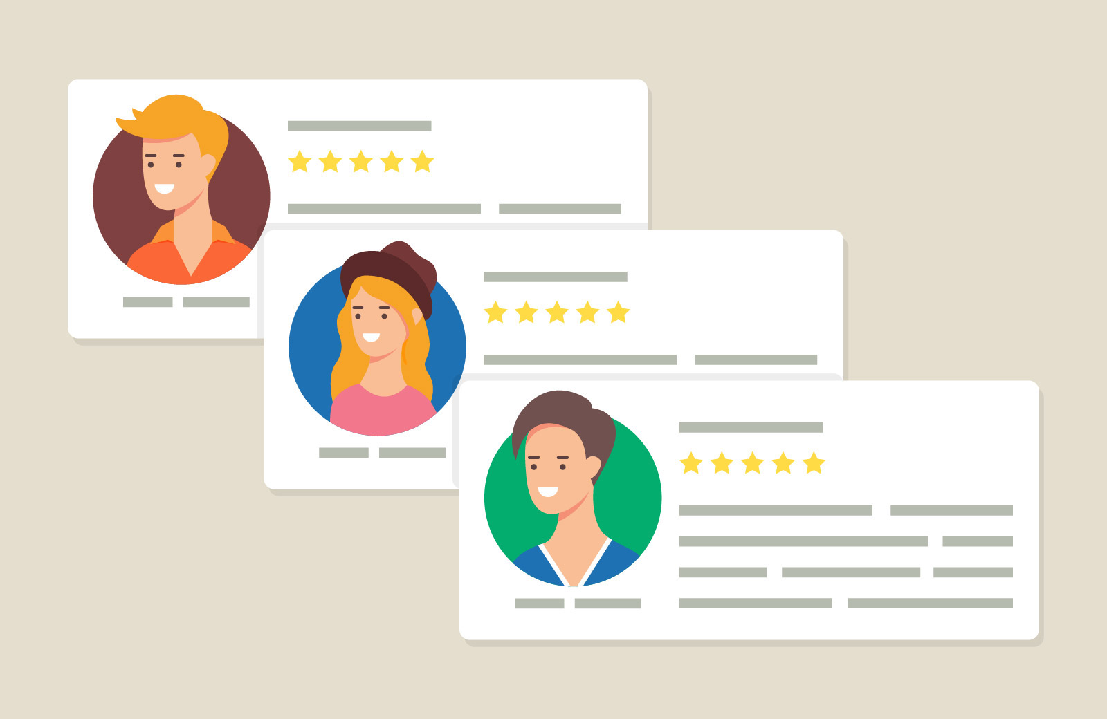 Gaining positive client reviews solidifies your status as an authority